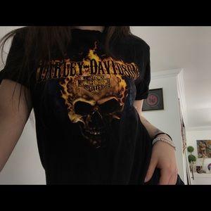 Harley Davidson Flame T-Shirt